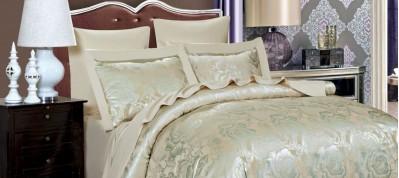 Жаккардовое постельное бельё