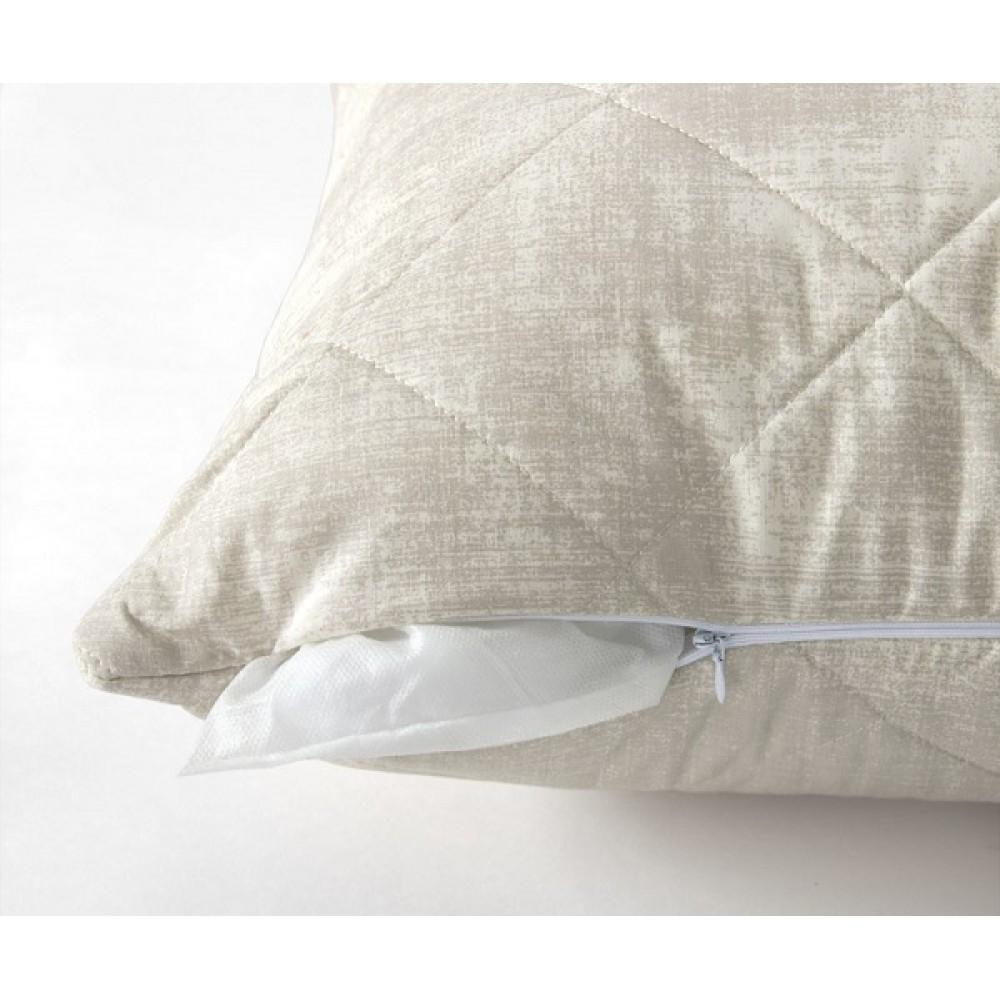 Подушка стеганная. Бамбук/ Перкаль