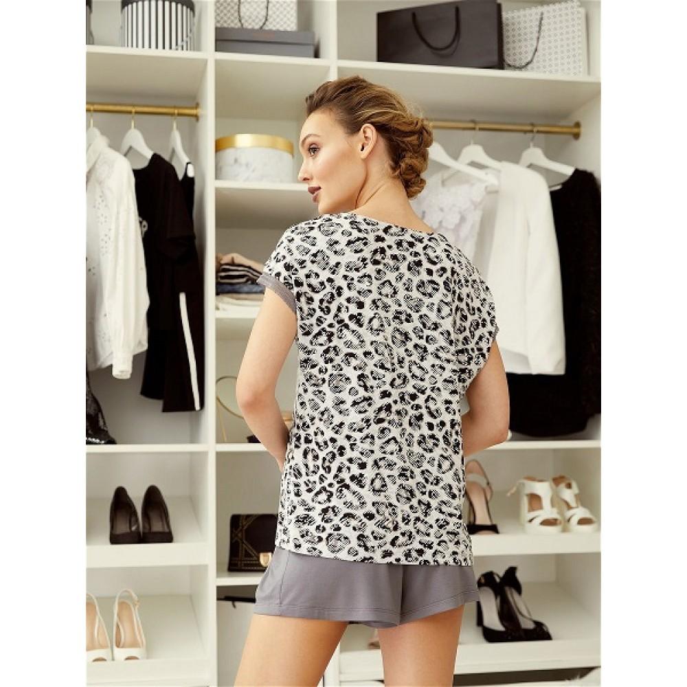 Mia Cara / Домашний костюм (пижама) футболка, шорты Animal