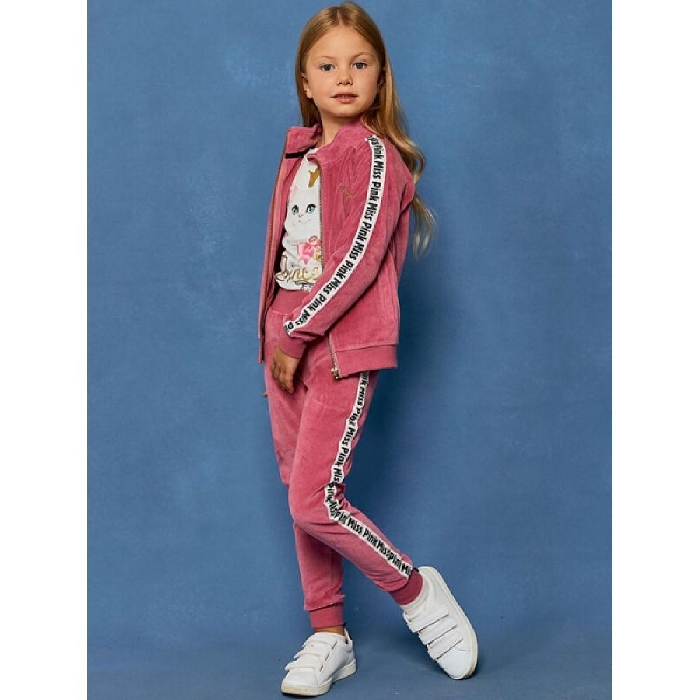 Брюки для девочек Juno D36958-37COZ Miss Pink