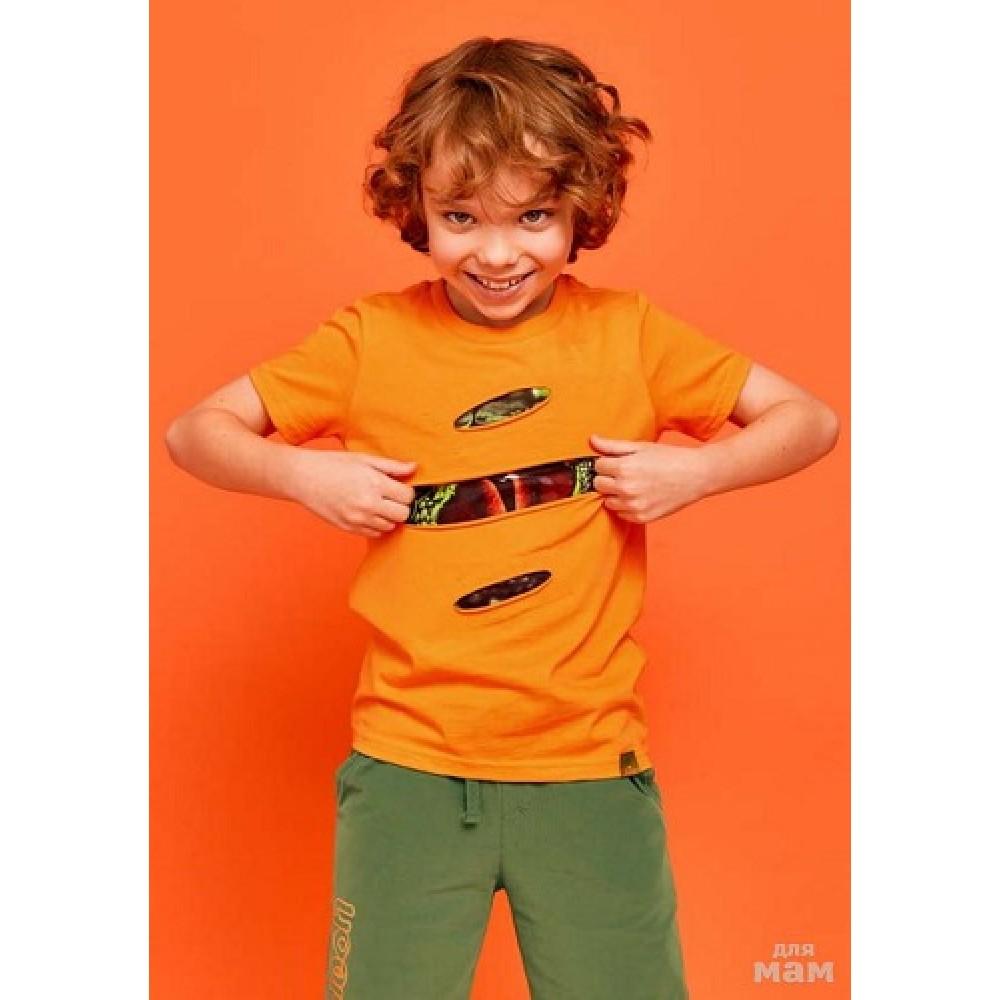 Футболка Juno SS21BJ625 Chameleon оранжевый