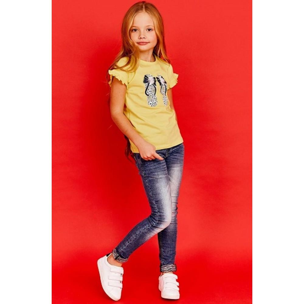 Брюки джинсовые Juno E38383-35COZ Amazing love деним