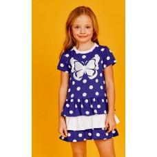 Платье Juno SS21GJ513  Happy Summer горох