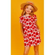 Платье д/дев Juno SS21GJ520 Happy Summer маки