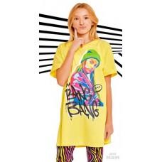 Туника (платье)   SS21GJ810 Galaxy spill желтый