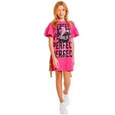 Туника (платье)  SS21GJ811 Galaxy spill розовый
