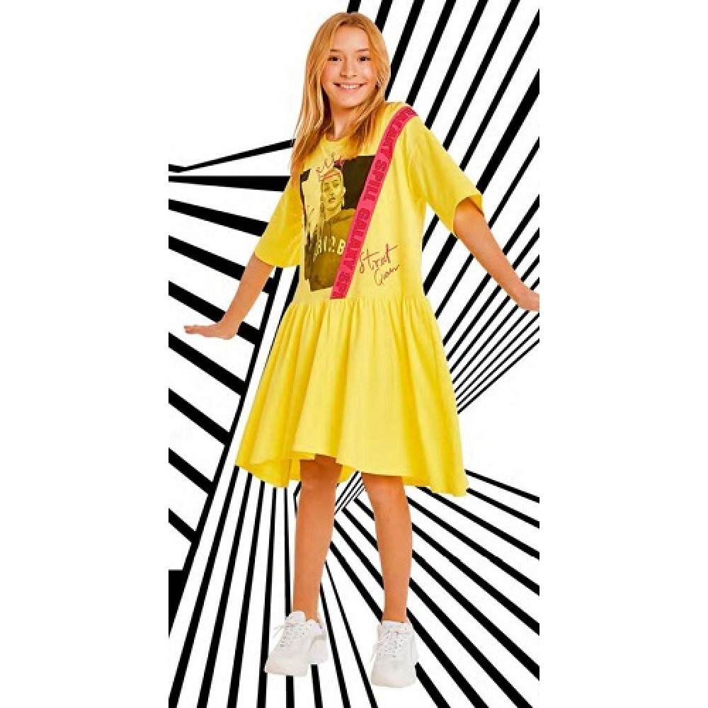 Платье Crazy Getup SS21GJ821 Galaxy spill желтый