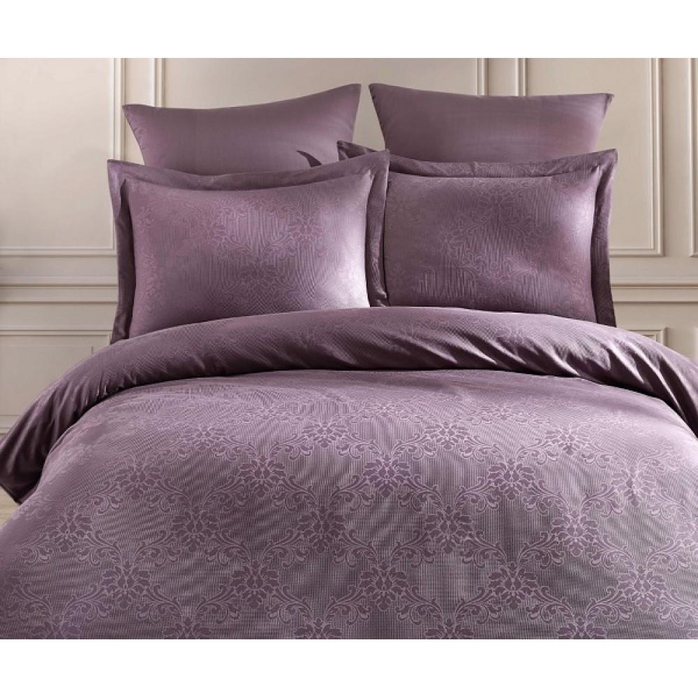 КПБ  Картекс, мако-сатин жаккардовый, фиолетовый