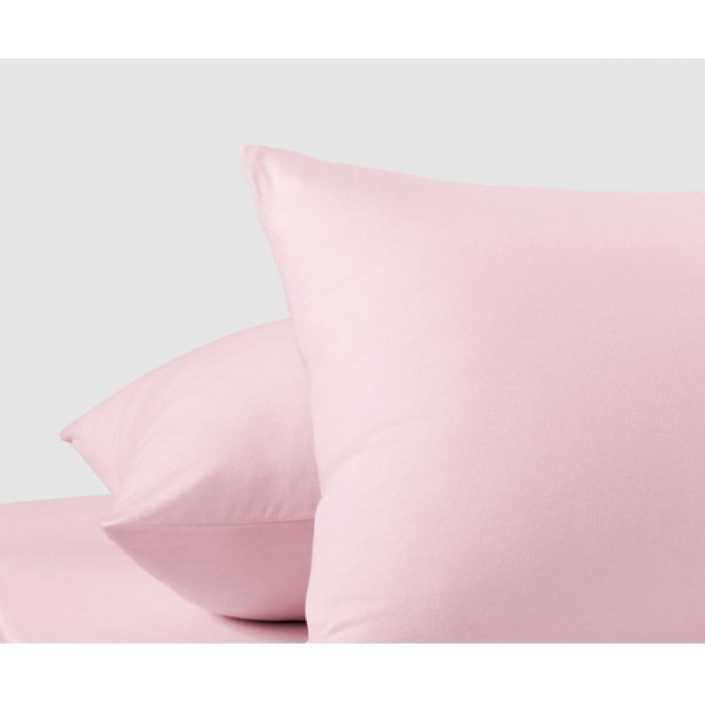 Наволочки трикотажные«Розовый»