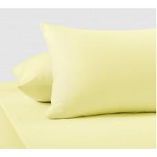 Наволочки трикотажные «Желтый»