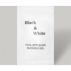 """Гель для душа """"Black & White"""" 10 мл"""