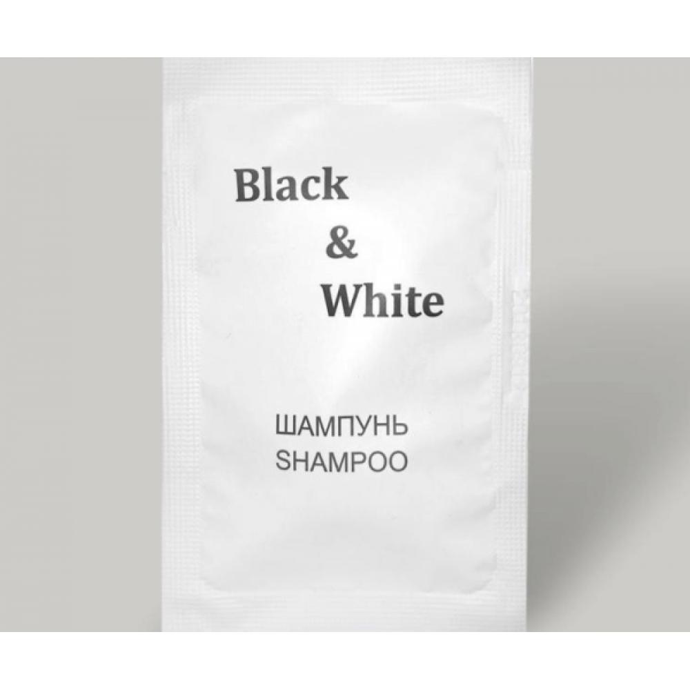 """Шампунь """"Black & White"""" 10 мл"""