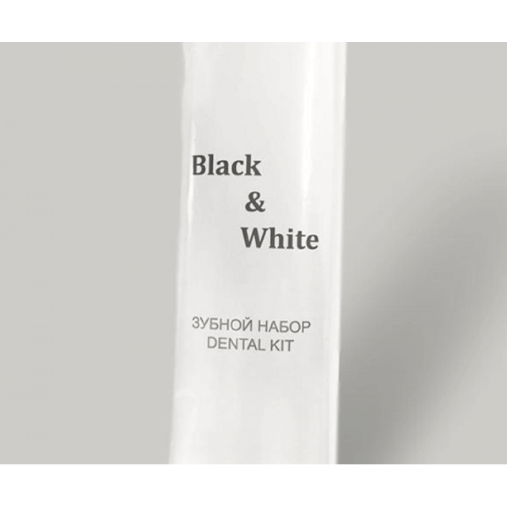 "Зубной набор ""Black & White"""