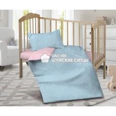 Детское постельное белье «Кроха» поплин 95141