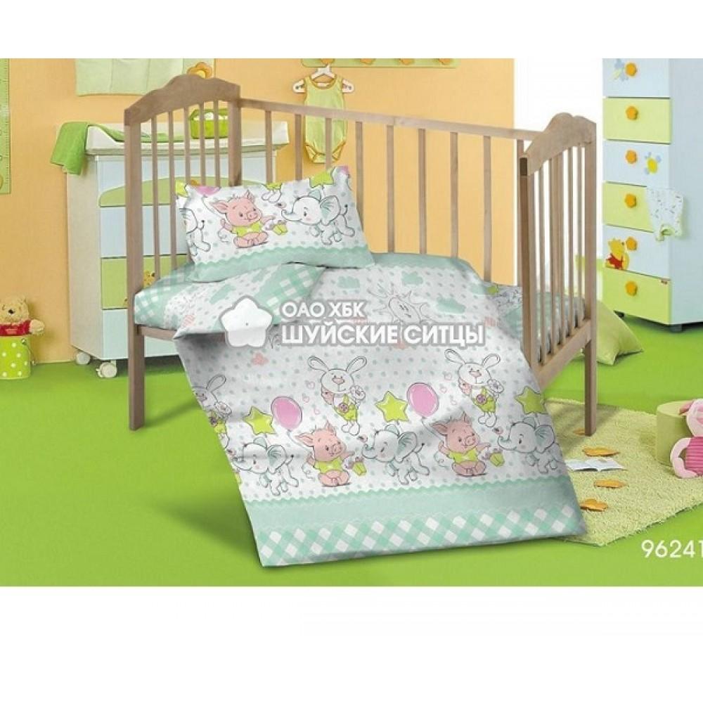 Детское постельное белье «Кроха» ситец 96241