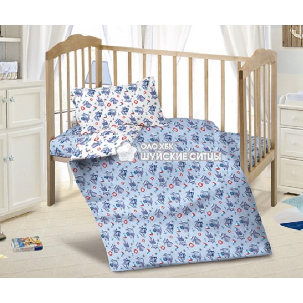 Детское постельное белье «Кроха» ситец 98351