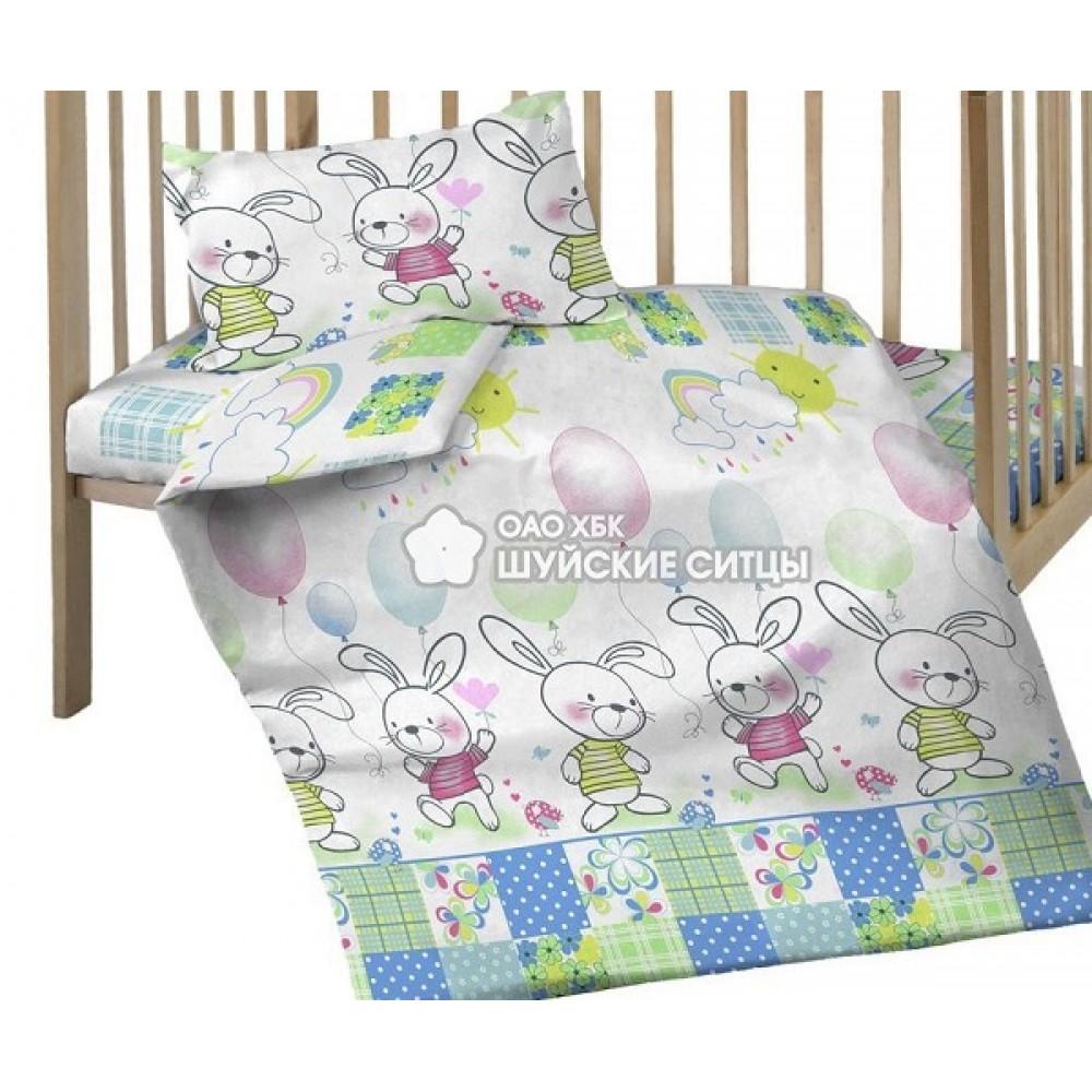 Детское постельное белье «Кроха» ситец 98611