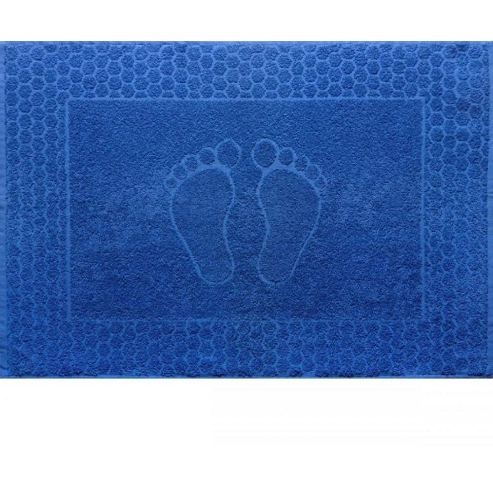 "Полотенце махровое ""Ножки"" синие"