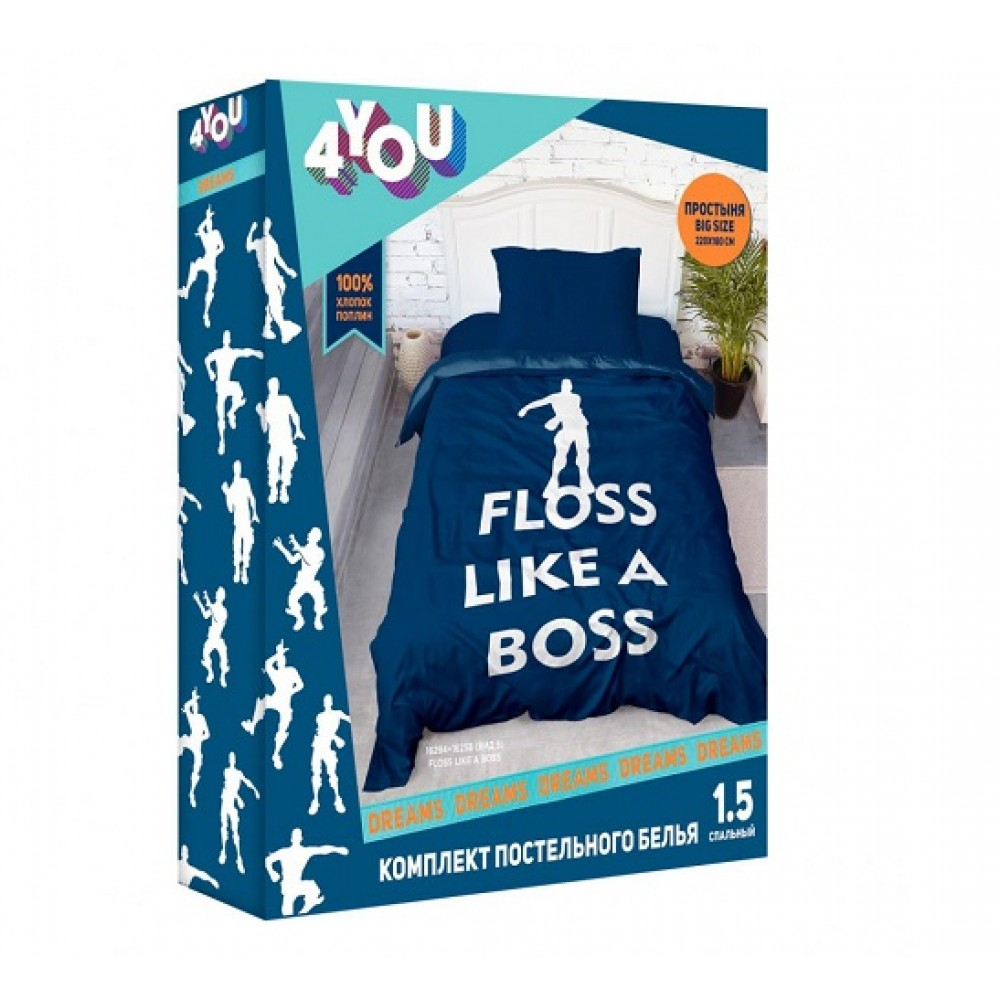 КПБ 4 YOU Dreams панно Floss like a Boss