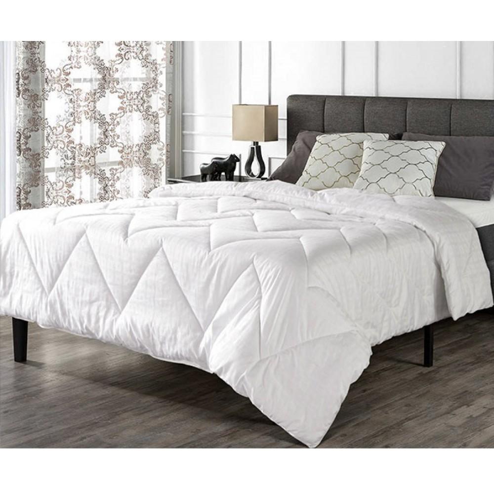 Стеганное одеяло перкаль лен 300 гр/кв.м