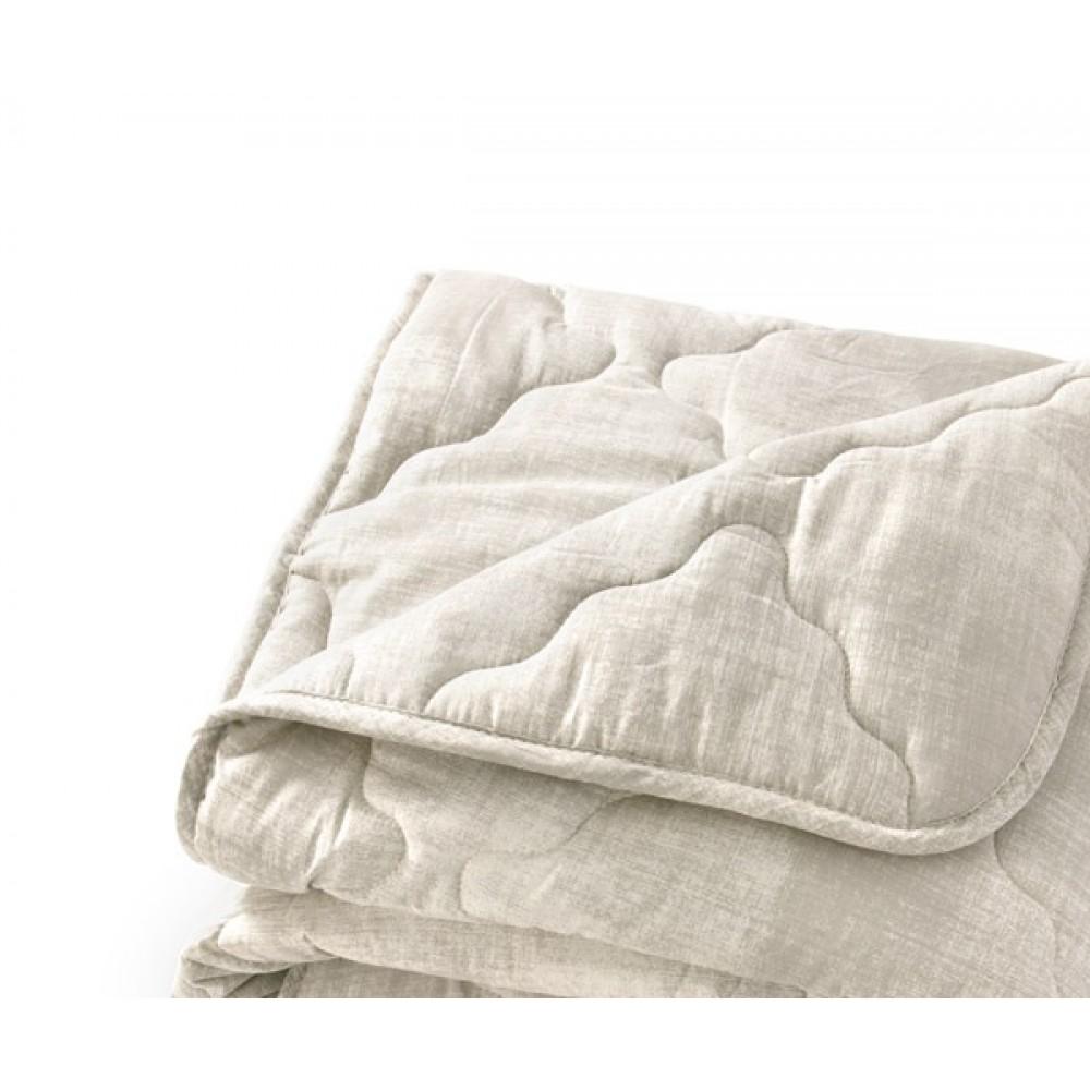 """Стеганное одеяло """"Тик"""" из овечьей шерсти"""