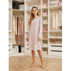 Платье жен Mia Cara AW20WJ345 Pink Puff розовый/полоса/рисунок