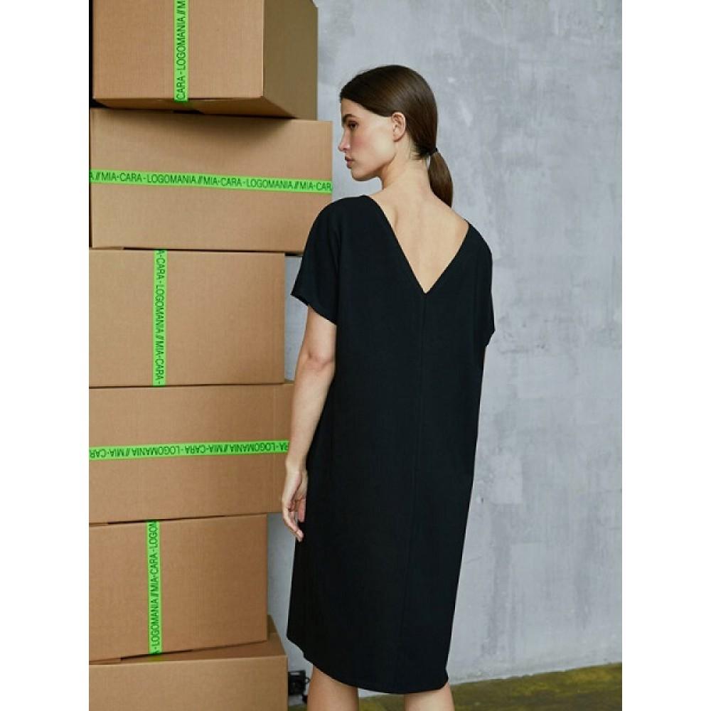 Платье жен Mia Cara AW20WJ321 Logomania черный