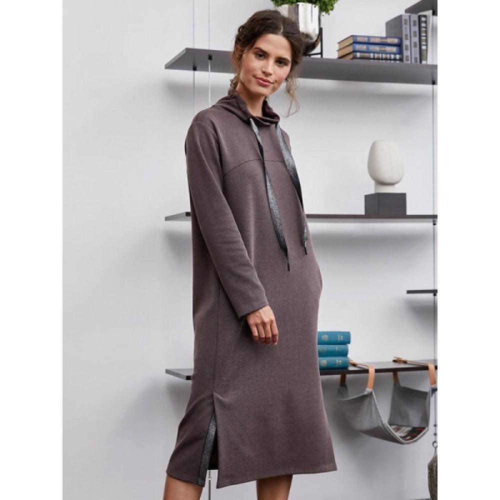 Платье жен Mia Cara AW20WJ3997B Beatrice какао