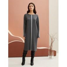 Платье жен BeGood темно-серый меланж