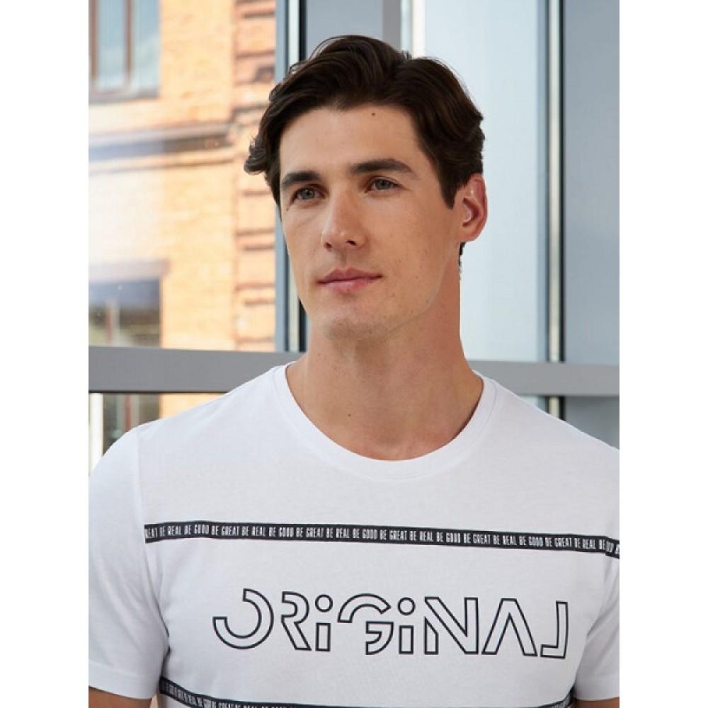 Фуфайка (футболка) муж BeGood AW20MJ281 TechNOW белый