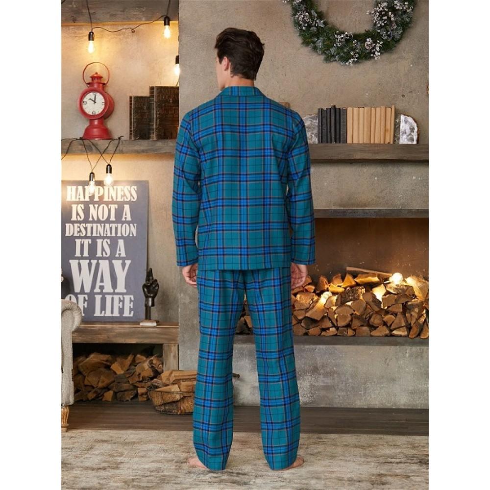 Пижама (куртка, брюки) муж BeGood AW20MW321 Snow Tyrol зеленый