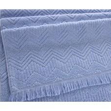 """Махровое полотенце """"Бавария"""" голубой"""