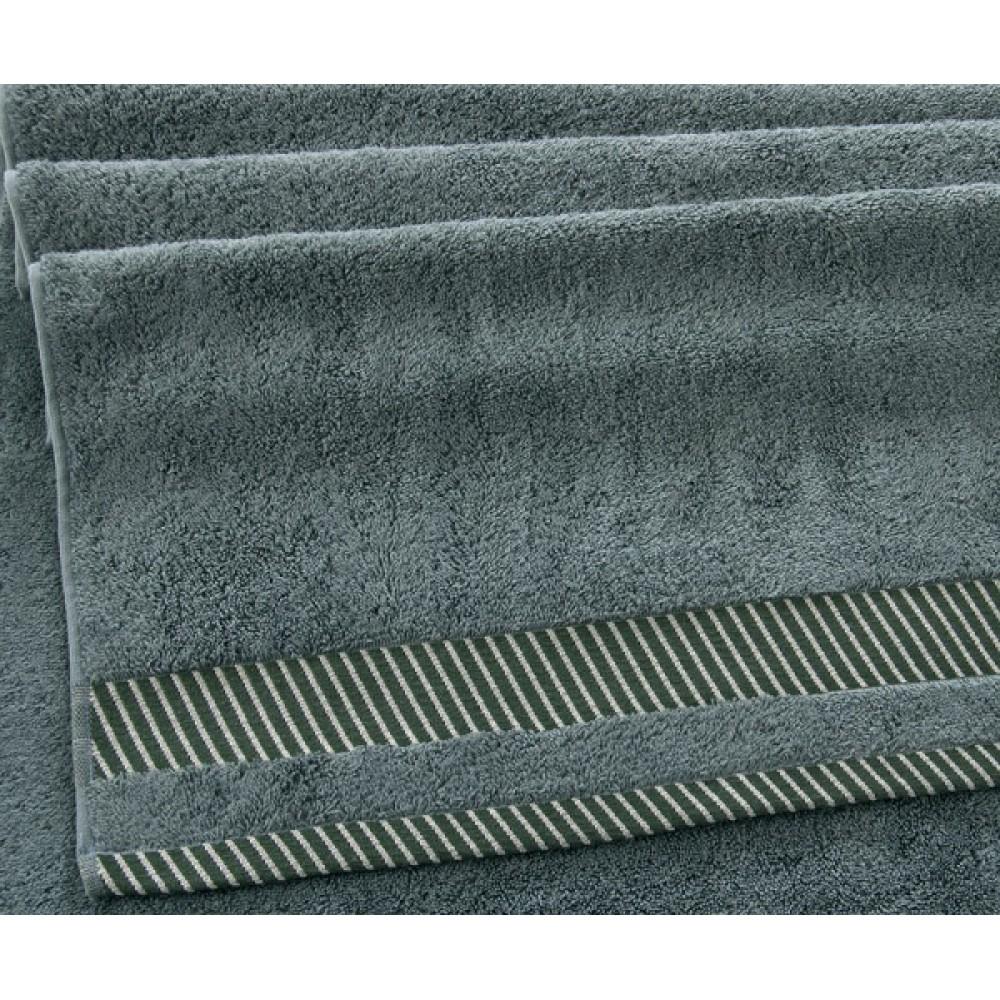 "Махровое полотенце ""Базель""  хаки"