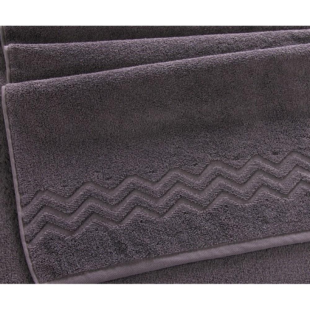 """Махровое полотенце """"Бремен""""  серый шато"""
