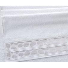 """Махровое полотенце """"Монтана""""   белый"""