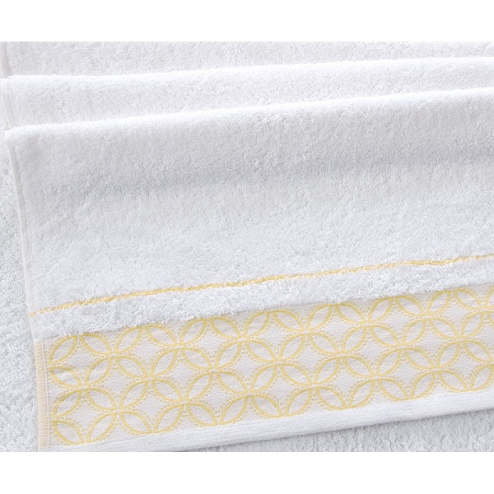 """Махровое полотенце """"Теннеси"""" белый"""