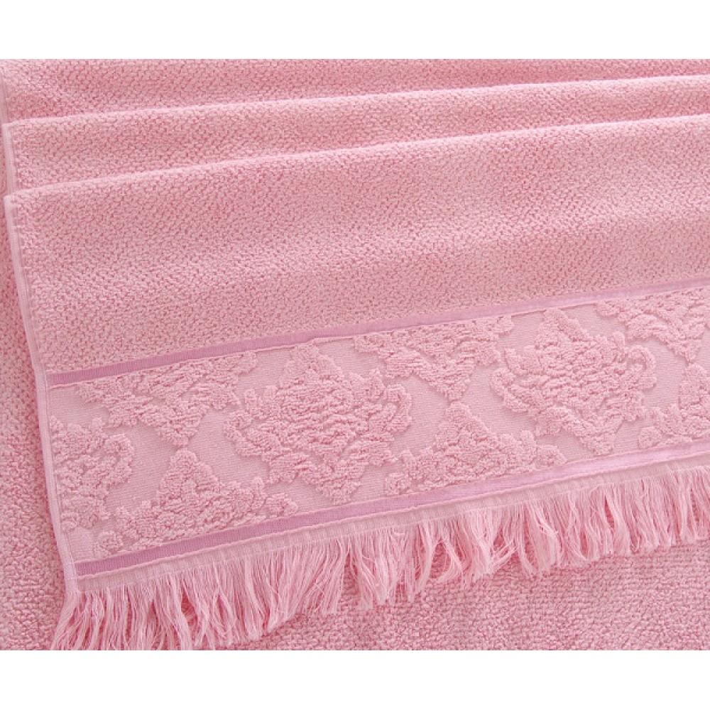 """Махровое полотенце """"Тоскана"""" розовый"""