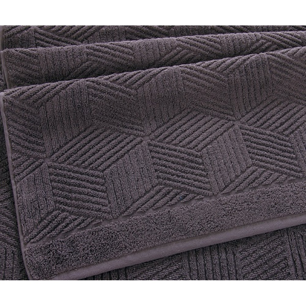 "Махровое полотенце ""Уэльс"" серый шато"