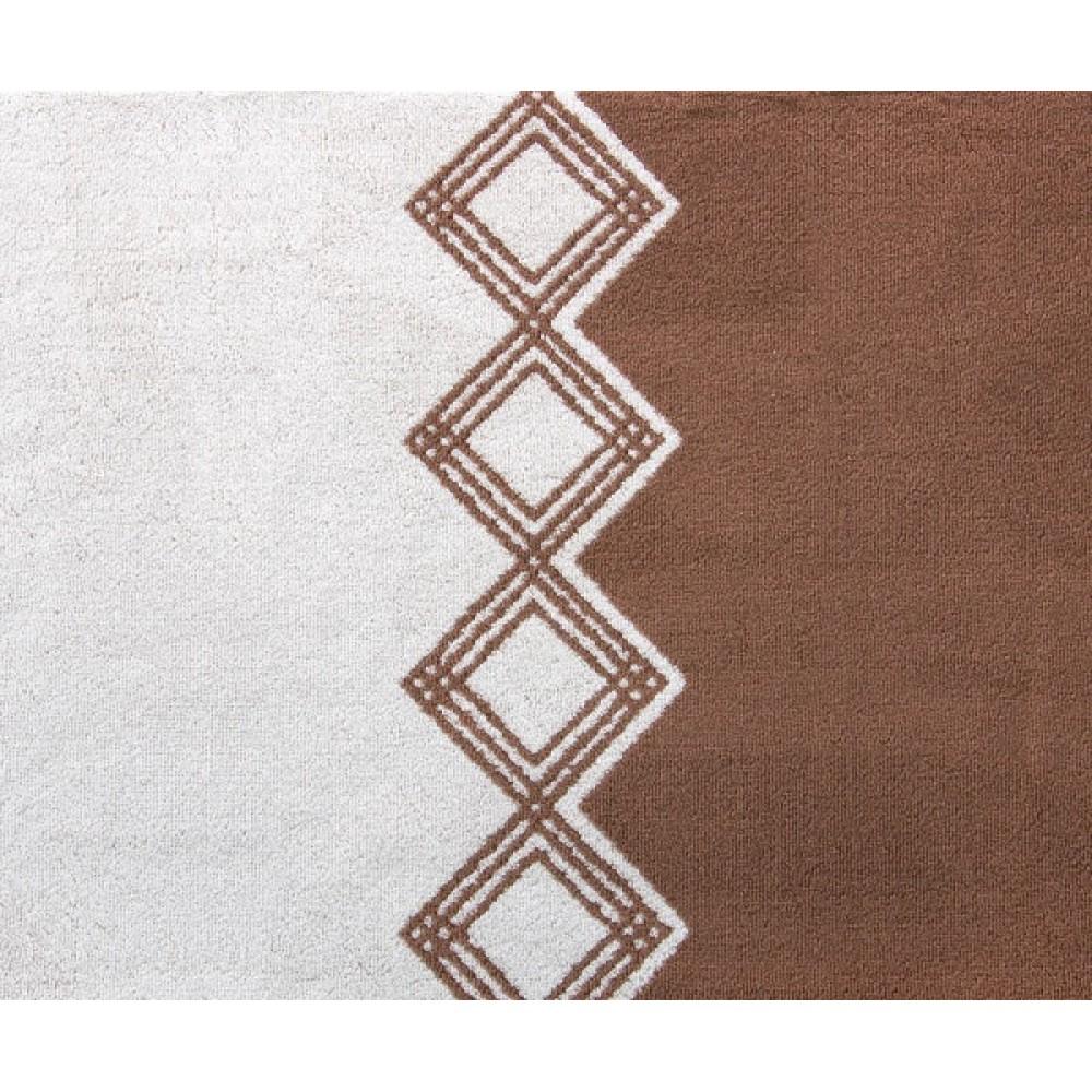 """Махровое полотенце """"Юта"""" орех"""