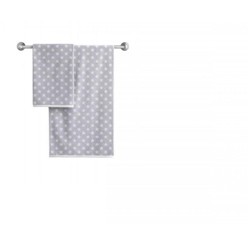 Полотенце Aquarelle Круиз звезды Бело/серый