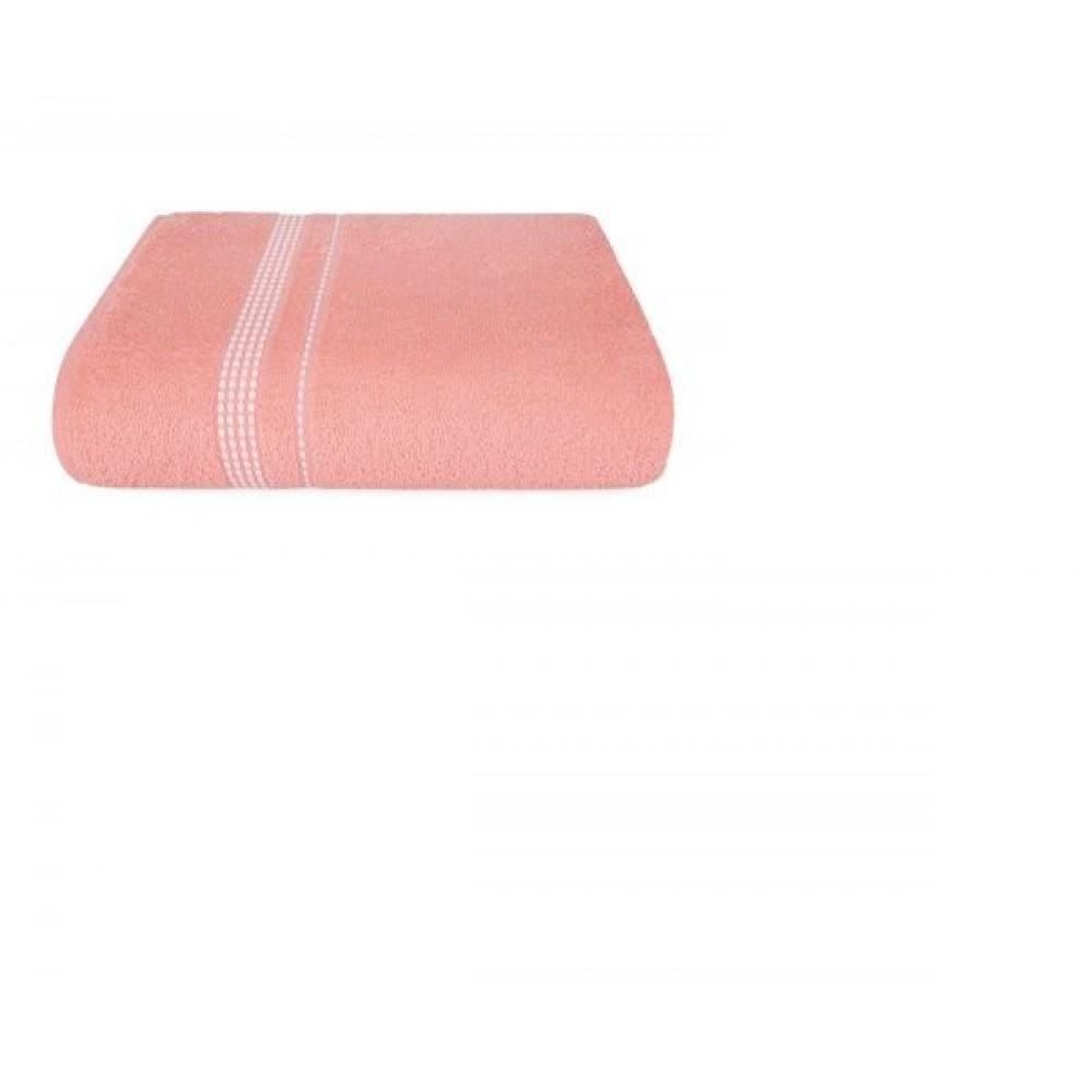 Полотенце Aquarelle Лето розово-персиковый
