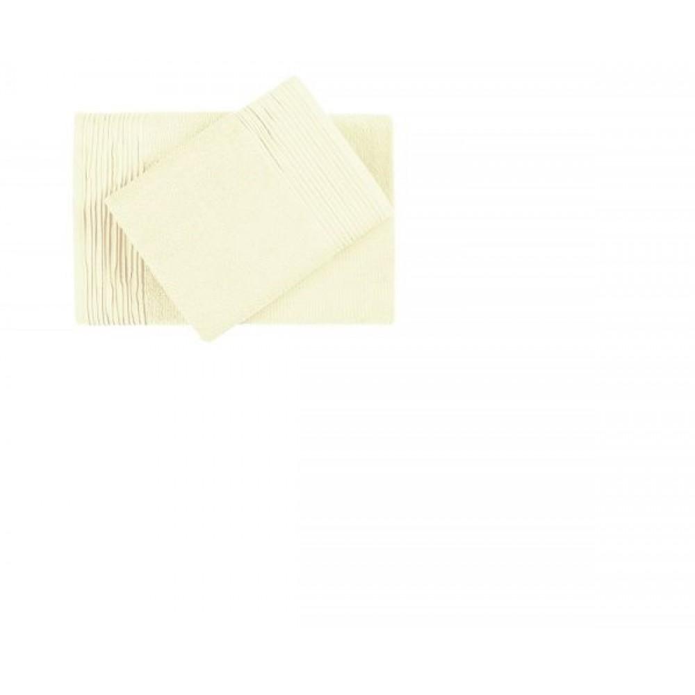 Полотенце  махровое Aquarelle  Палитра ваниль