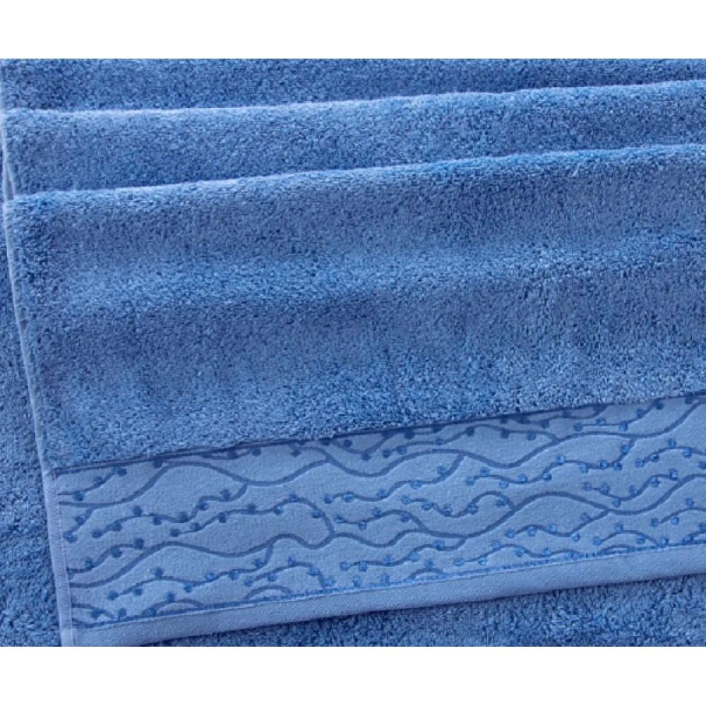 """Махровое полотенце """"Айова"""" небесно-голубой"""