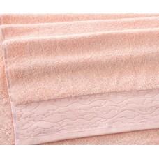 """Махровое полотенце """"Айова"""" персик"""