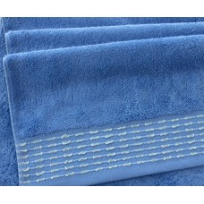 "Махровое полотенце ""Невада"" небесно-голубой"
