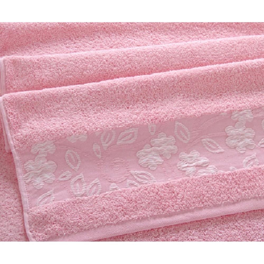 "Махровое полотенце ""Прованс"" розовый"