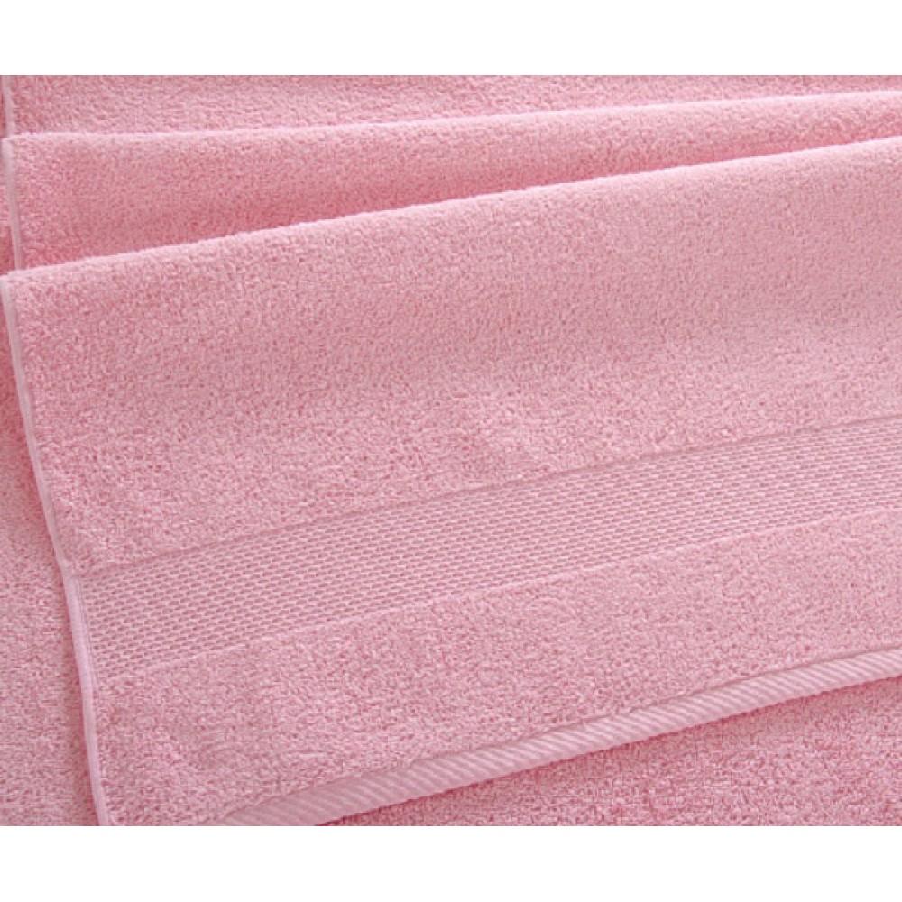 "Махровое полотенце ""Сардиния"" розовое"
