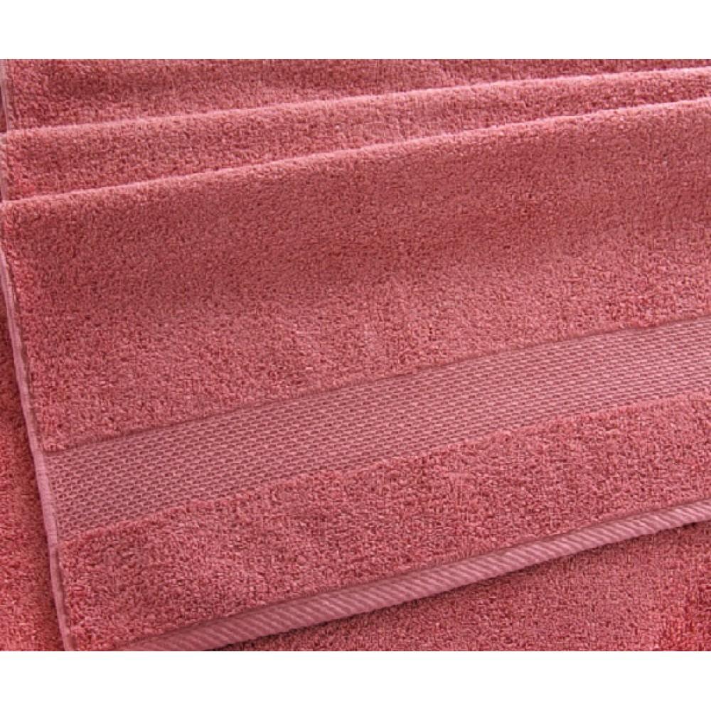 "Махровое полотенце ""Сардиния"" терракот"