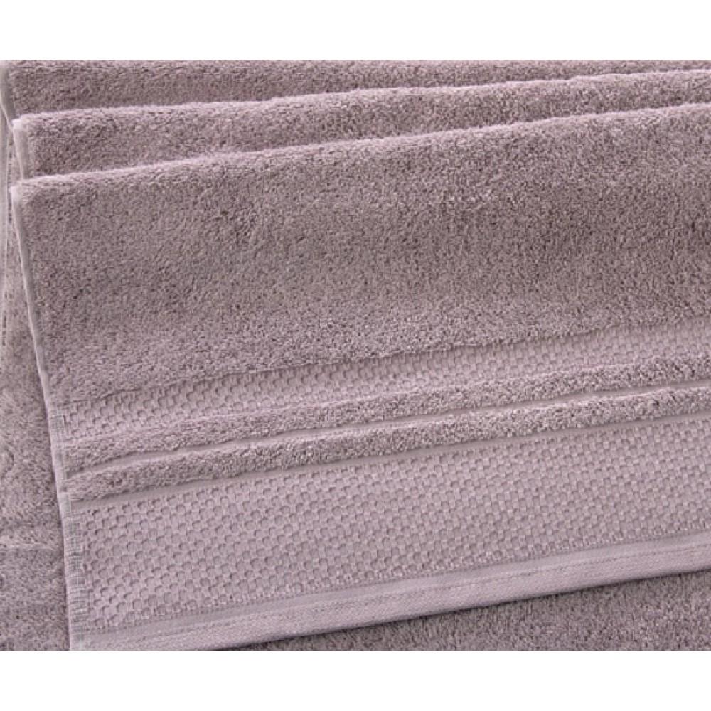 "Махровое полотенце ""Вермонт""  розово-коричневый"