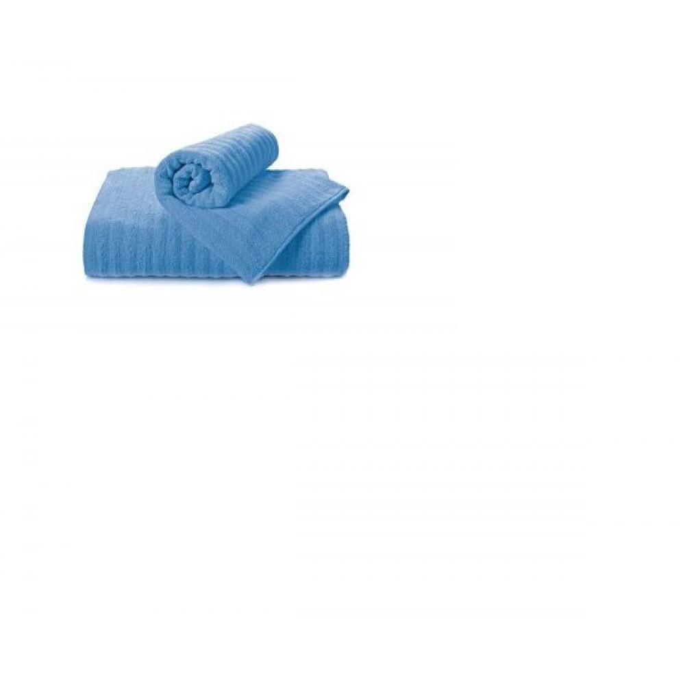 Полотенце Aquarelle Волна спокойный синий